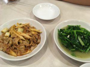 中国台湾料理 味仙 青菜炒めなど
