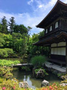銀閣寺の池