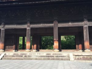 南禅寺 楼門五三桐