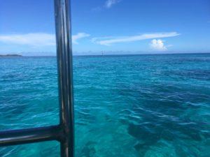 西表島 体験ダイビング 船から海へ