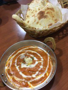 バンチャガルのバターチキンカレー