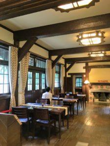 揚輝荘 食堂