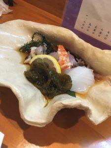 島魚料理・寿し 初枝 酢の物