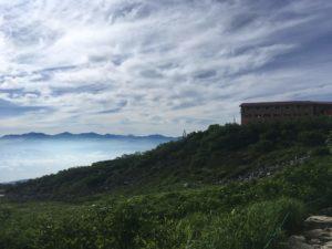千畳敷カール 雲海