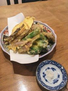 蕎麦切り ふ〜助 旬菜の天ぷら