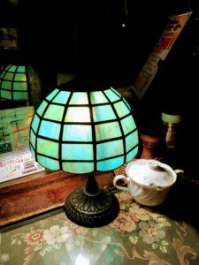 マ・メゾン 星ヶ丘本店 テーブルのライト