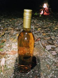 ニュージランド土産のキウイのワイン