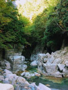 美しい峡谷