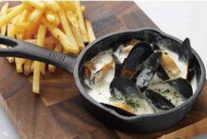 ムールフリット ~ムール貝の白ワイン煮とポテトフライ~