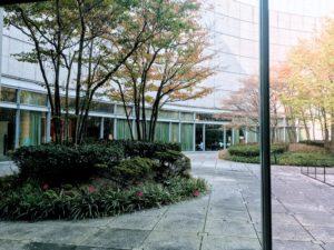 愛知芸術文化センターの10階の中庭