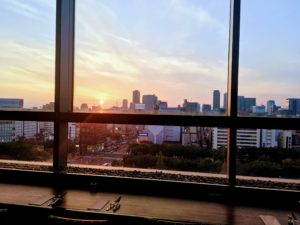 ウルフギャング・パック 愛知芸術文化センター店からの眺め