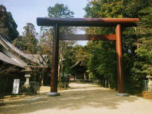 猿投神社の鳥居