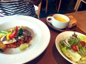 マトウ鯛のムニエル 野菜のトマトソース