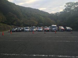 朝明渓谷駐車場