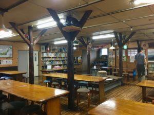 法華院温泉山荘 食堂