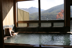 法華院温泉山荘 お風呂