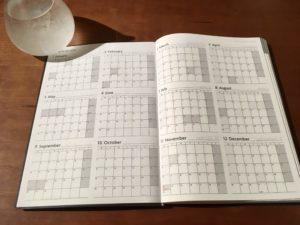 EDiT 週間ノート YEAR PLAN